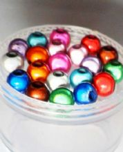 Miracle beads 6mm. Mixed pack of 20.